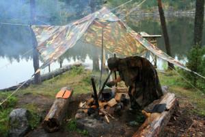 Camping statt Evakuierung