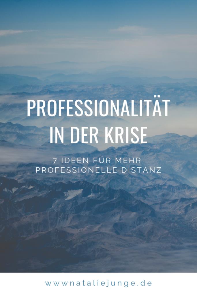 Professionalität in der Krise - Natalie Junge