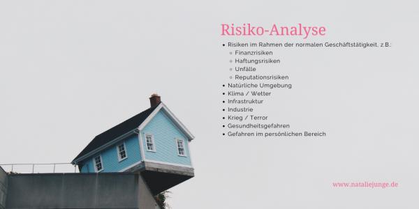 Kennst du deine Risiken?