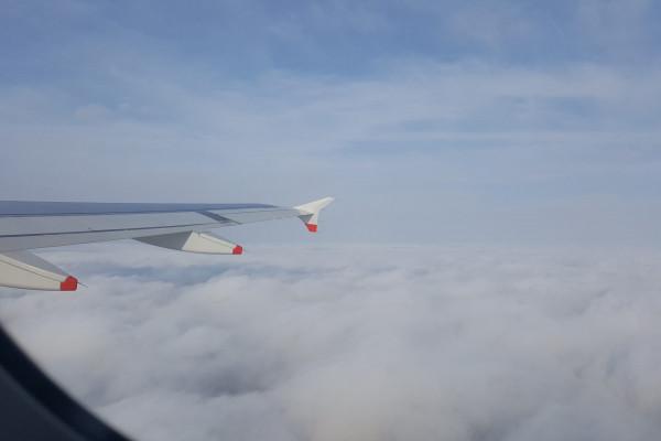 Corona im Flugzeug